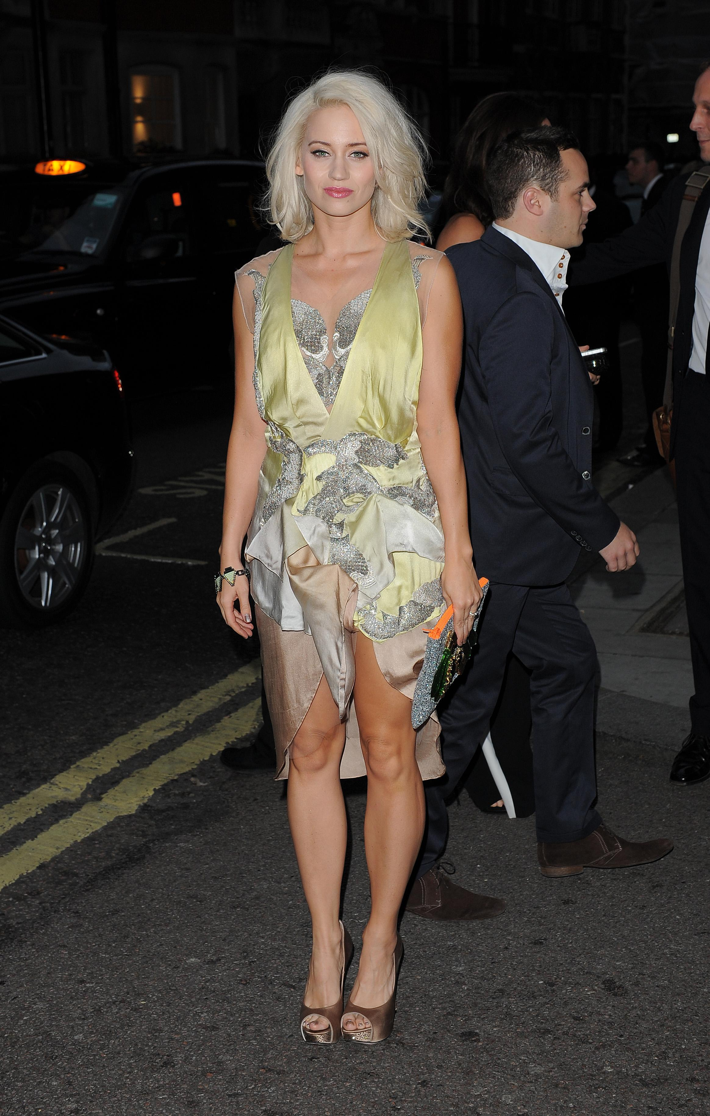 Kimberly Wyatt S Feet