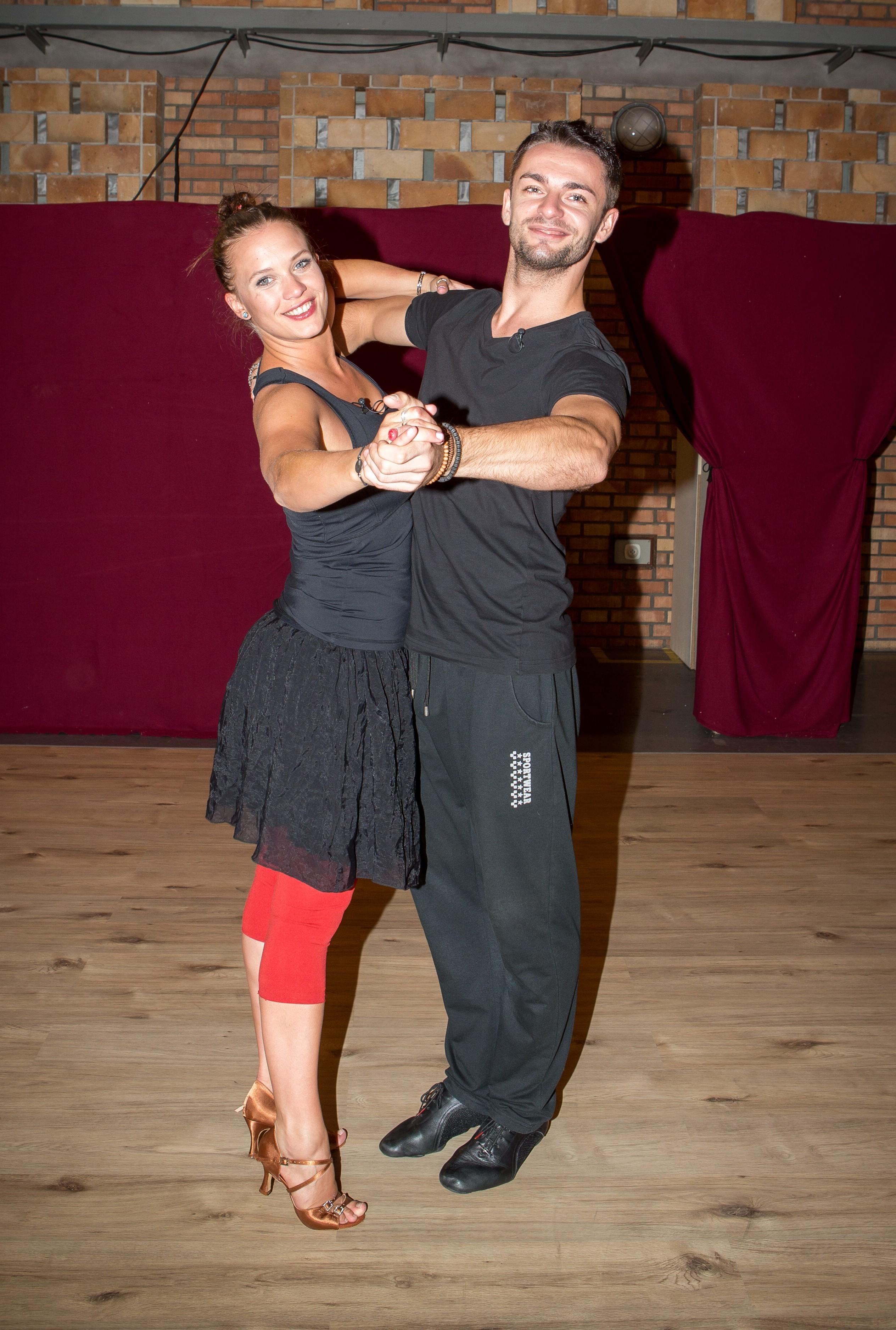 Dancing in nylon feet