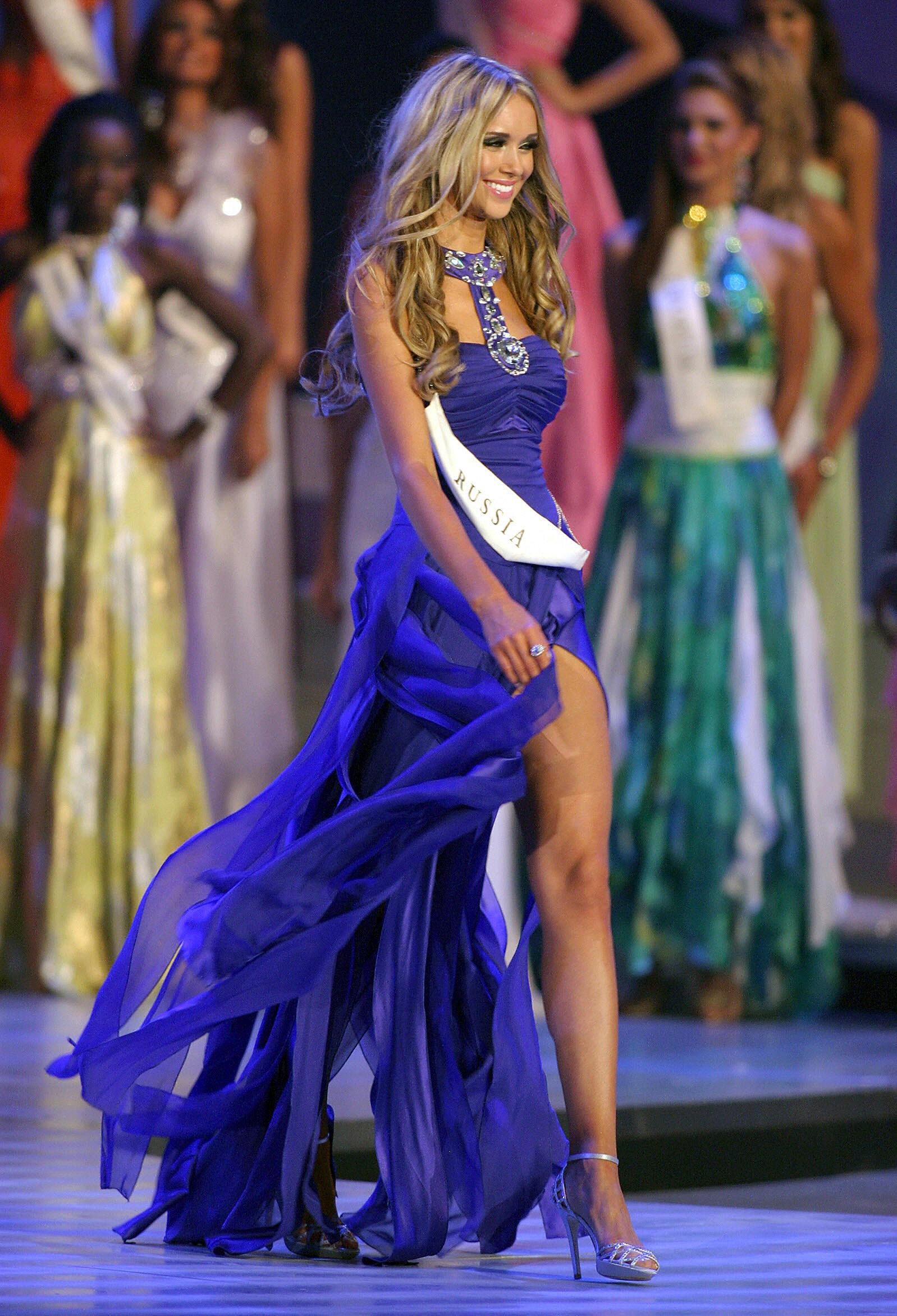 3 Miss World 2008 Kseniya Sukhinova from Russia.