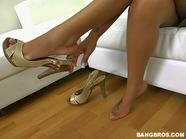Lacey duvalle footjob