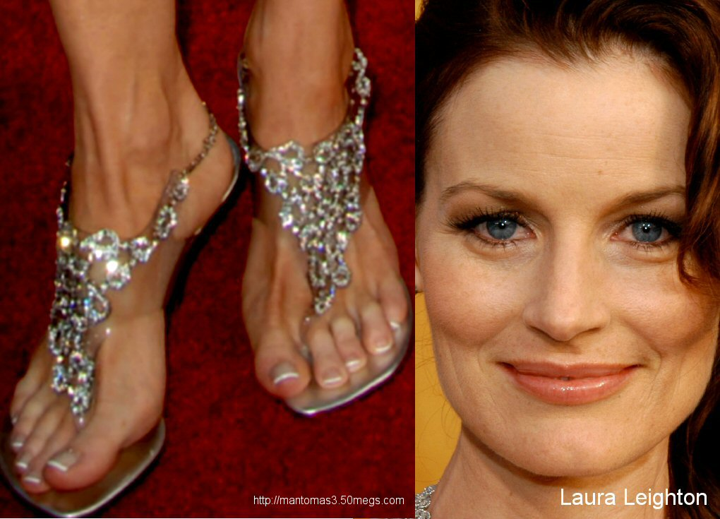Laura Leightons Feet