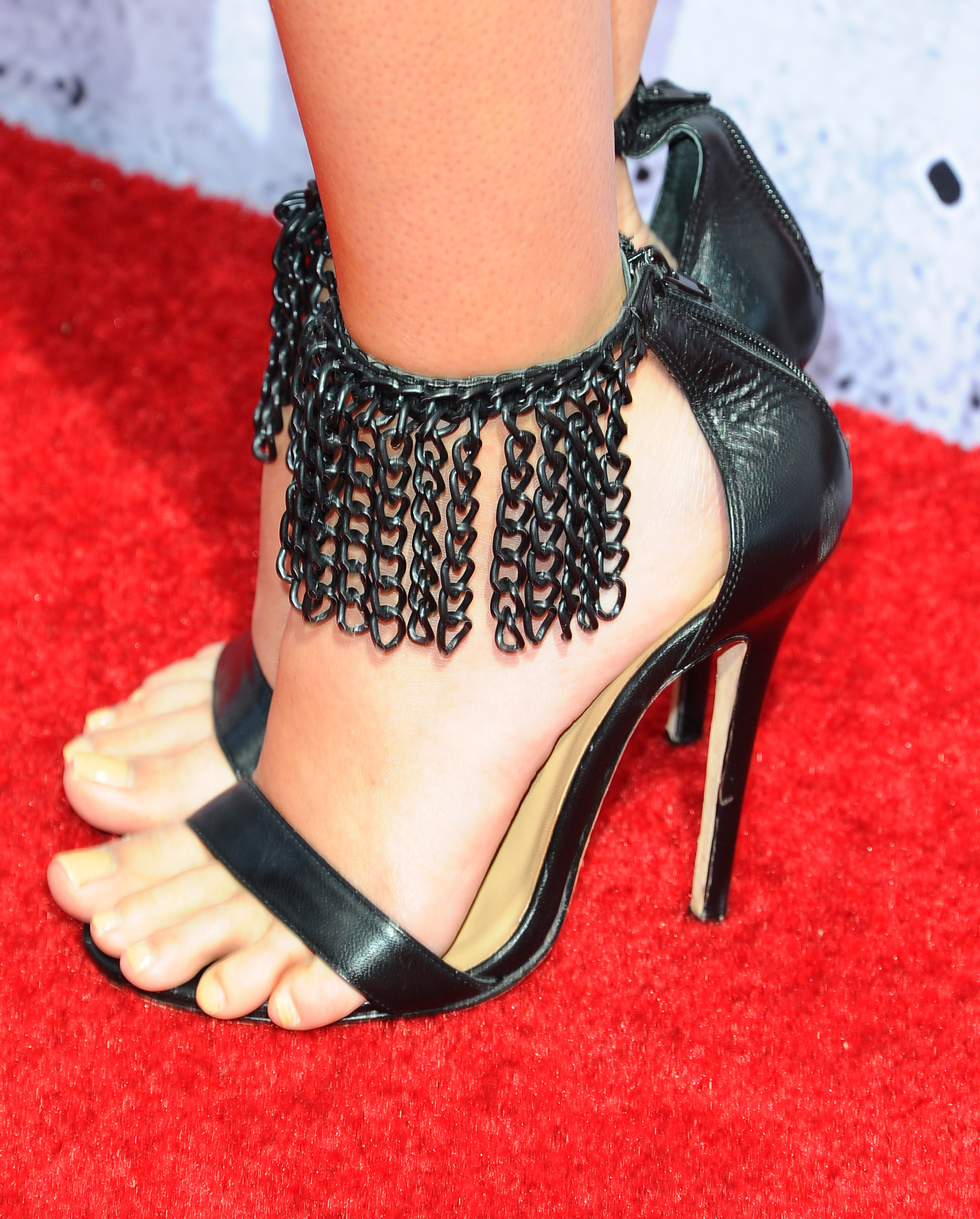 Laura Maranos Hot Feet in Trophy Bling Sandals by Ruthie