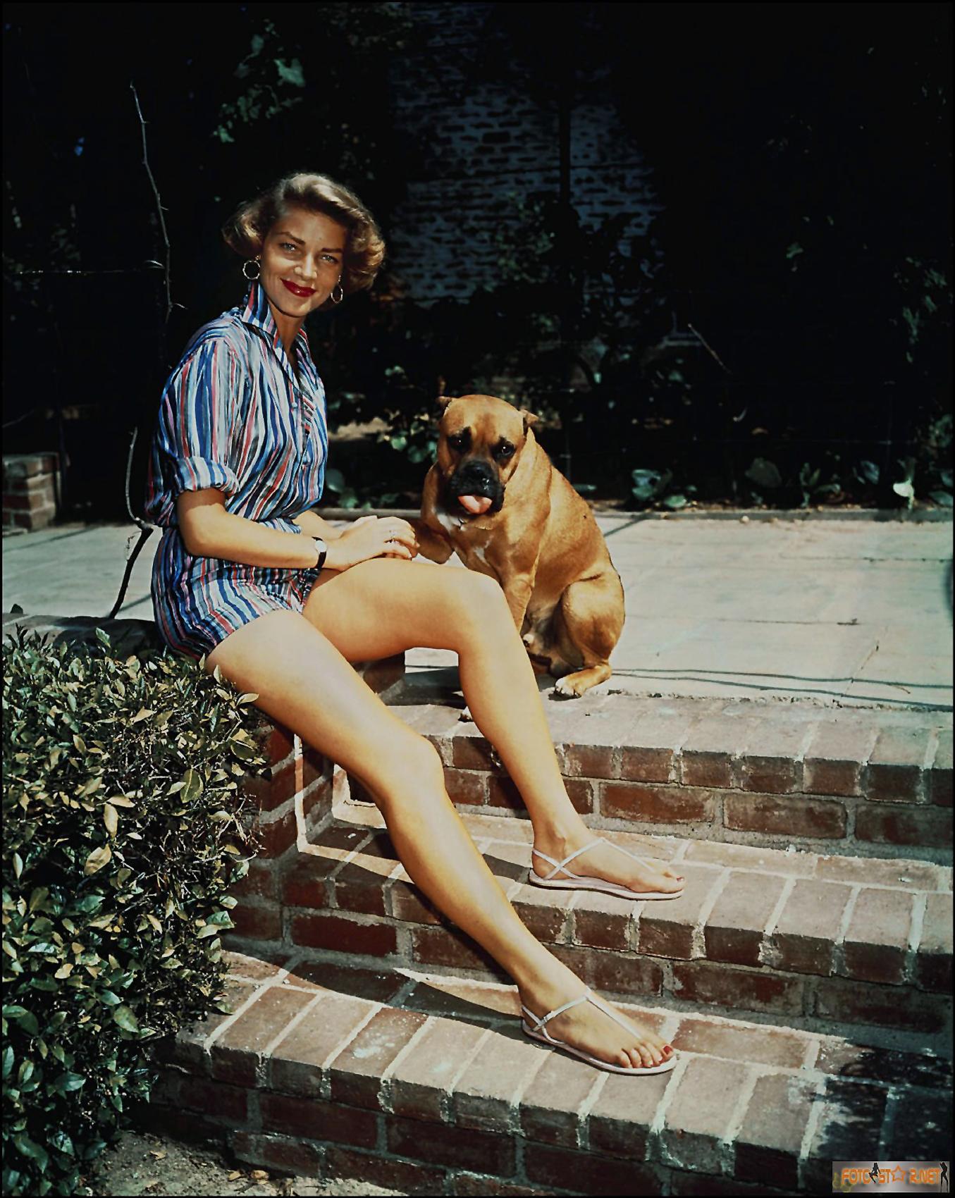 Lauren Bacall's Feet