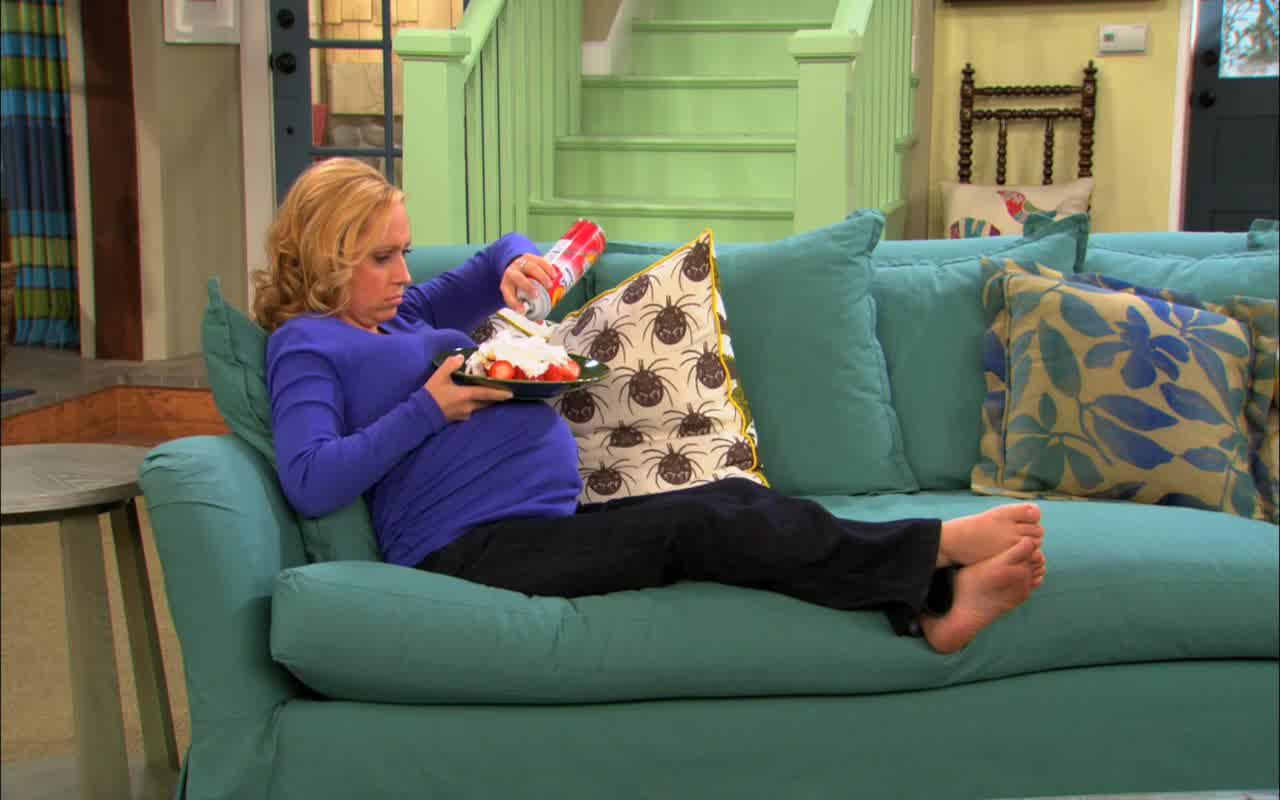 Leigh Allyn Baker's Feet