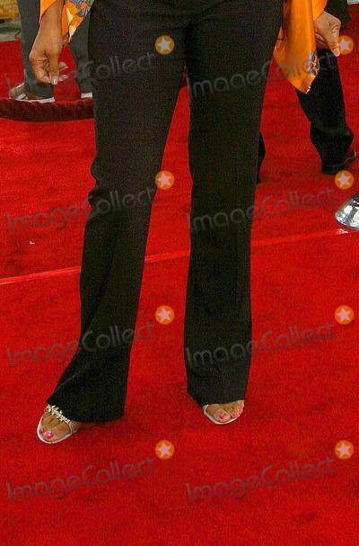 Lela Rochon's Feet Rosario Dawson