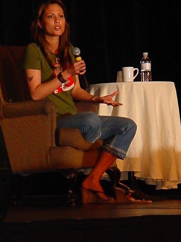 Lexa Doig's Feet Keira Knightley