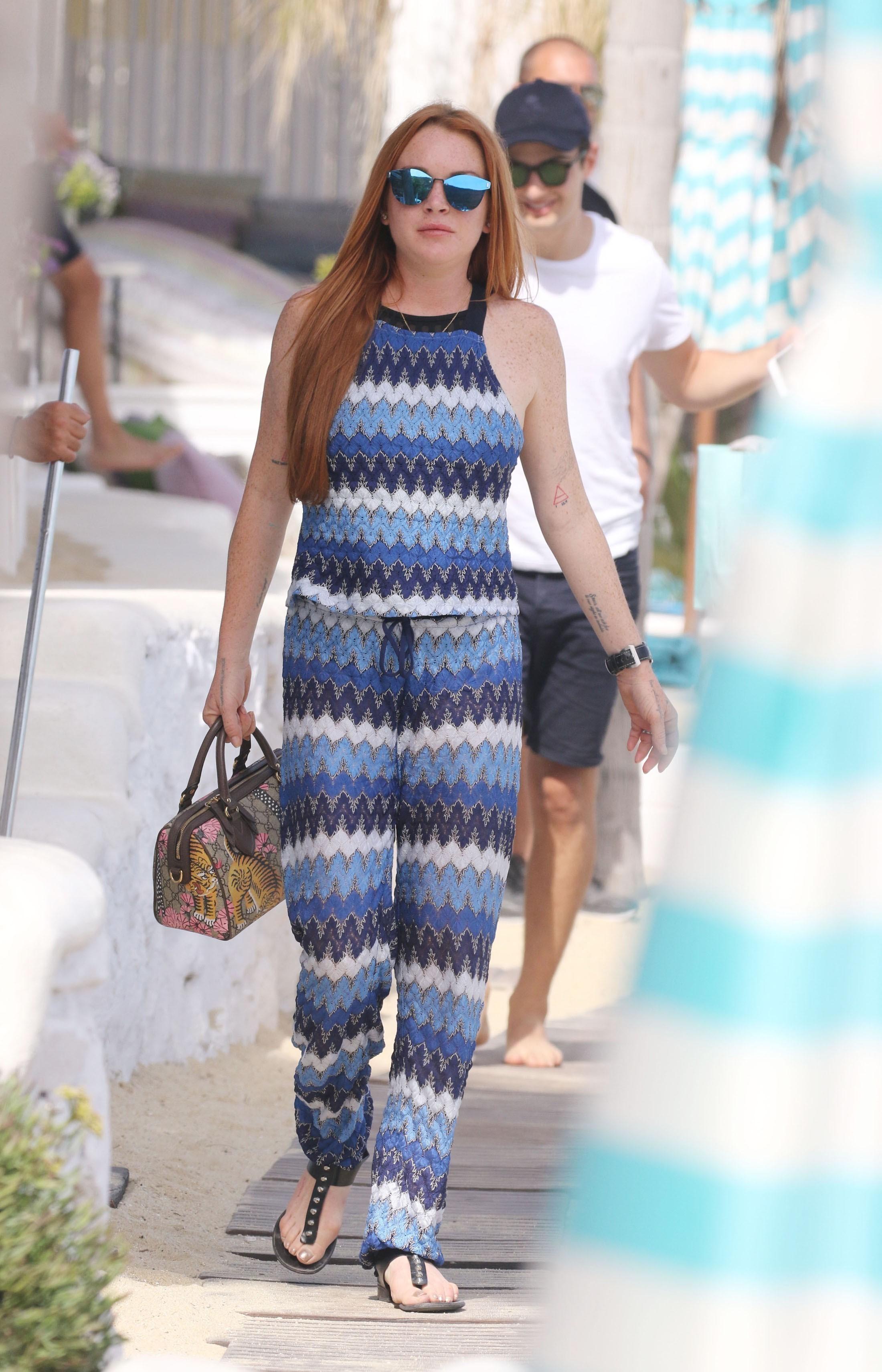 Lindsay Lohan S Feet