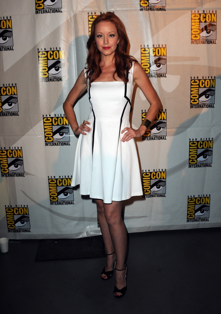Lindy Booth Shoe Size