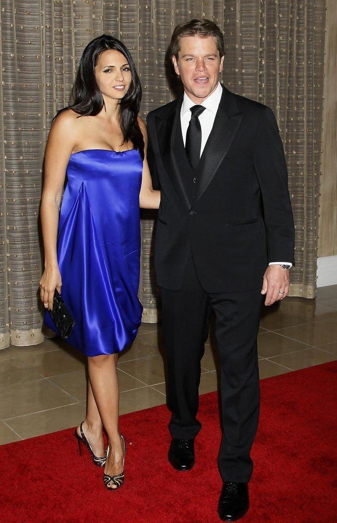 Gallery For > Luciana Barroso Wiki Matt Damon