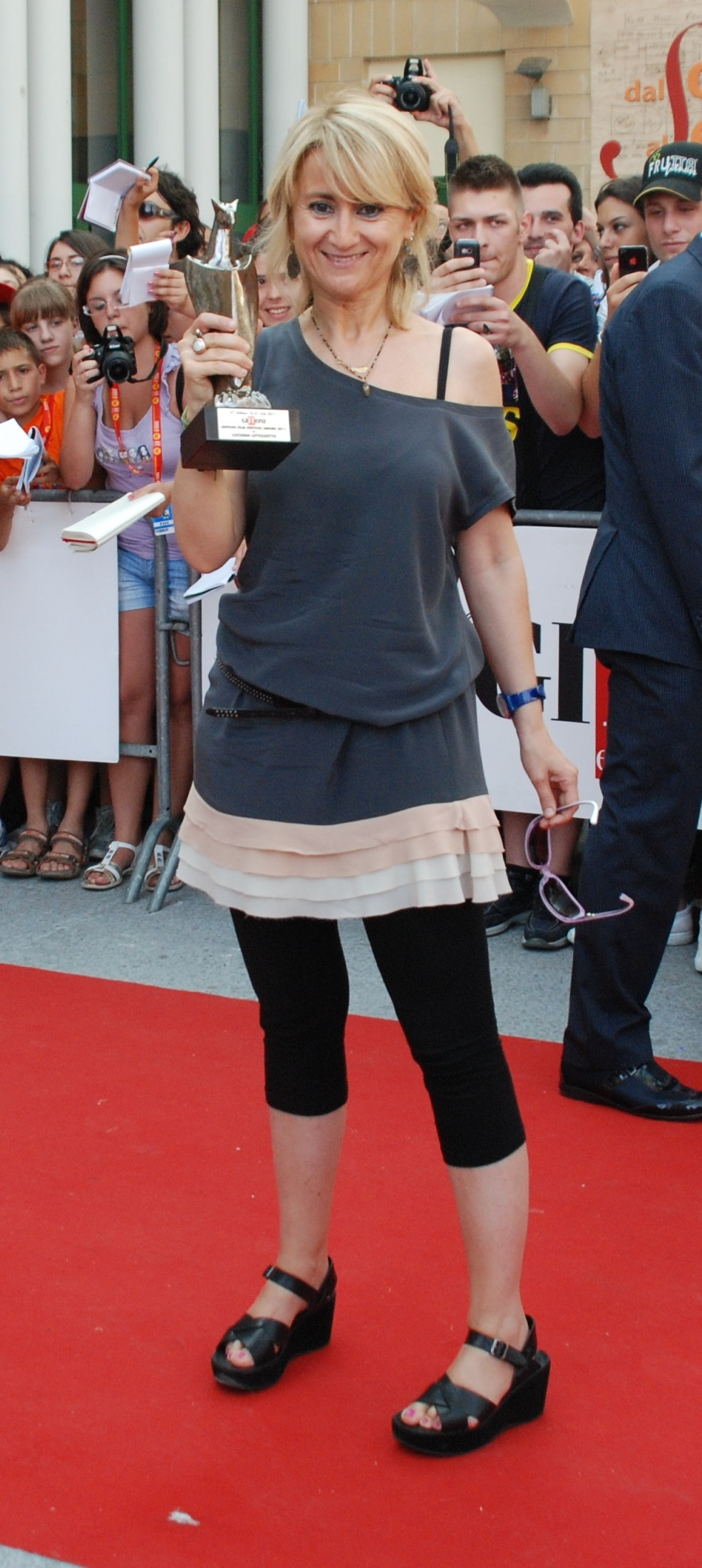 Luciana Littizzetto(born 1964)