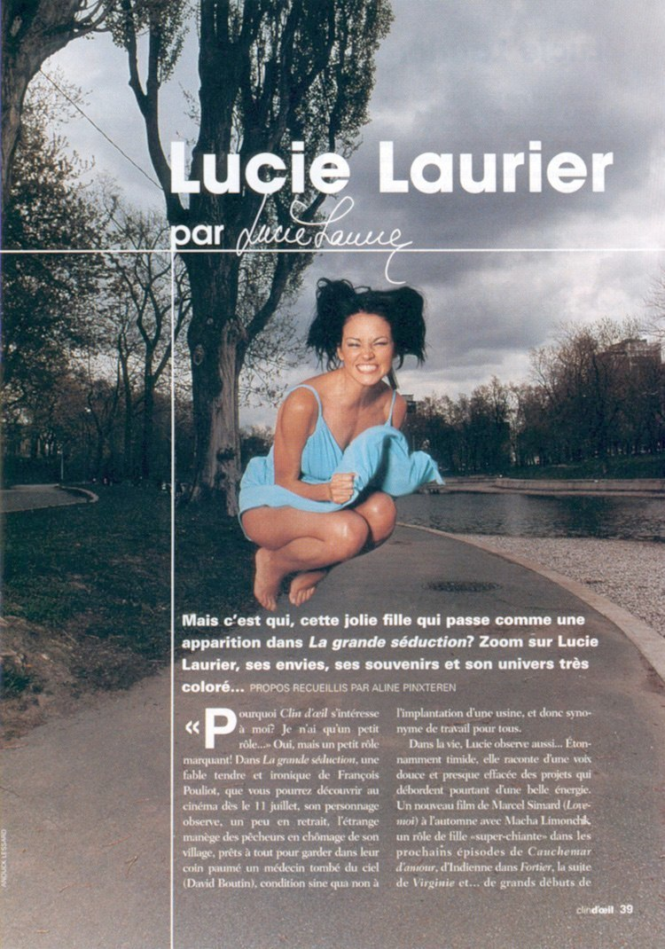 Lucie laurier feet properties