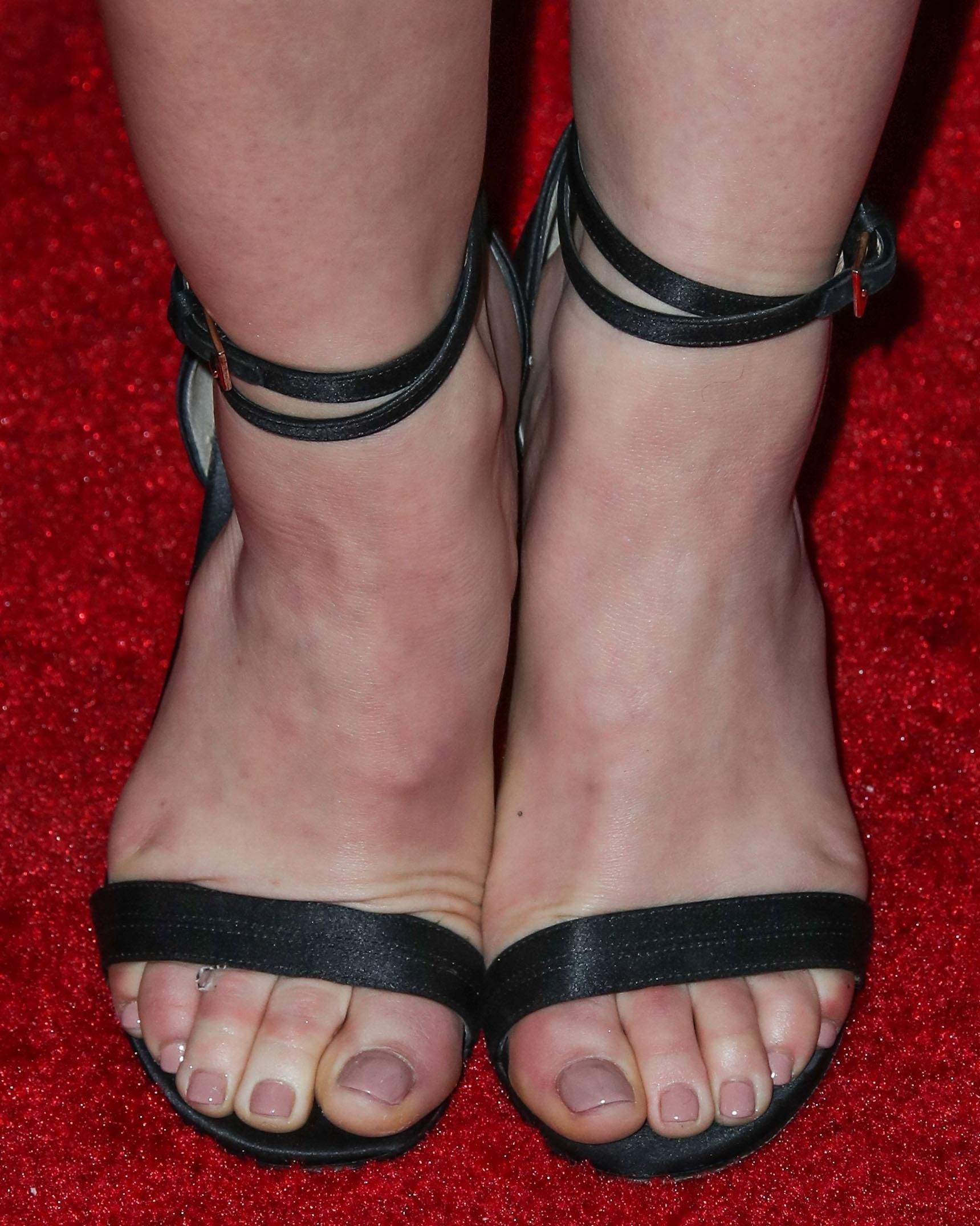 Lucy Hales Feet