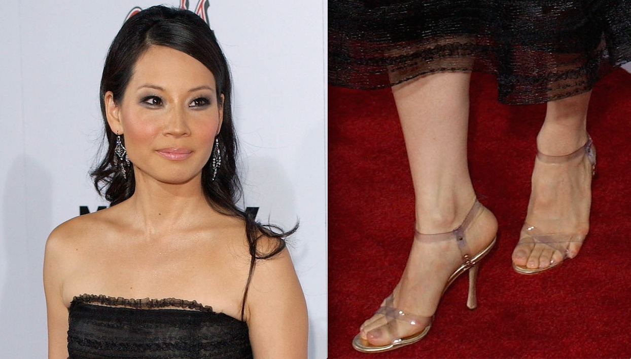 Lucy liu feet car pictures