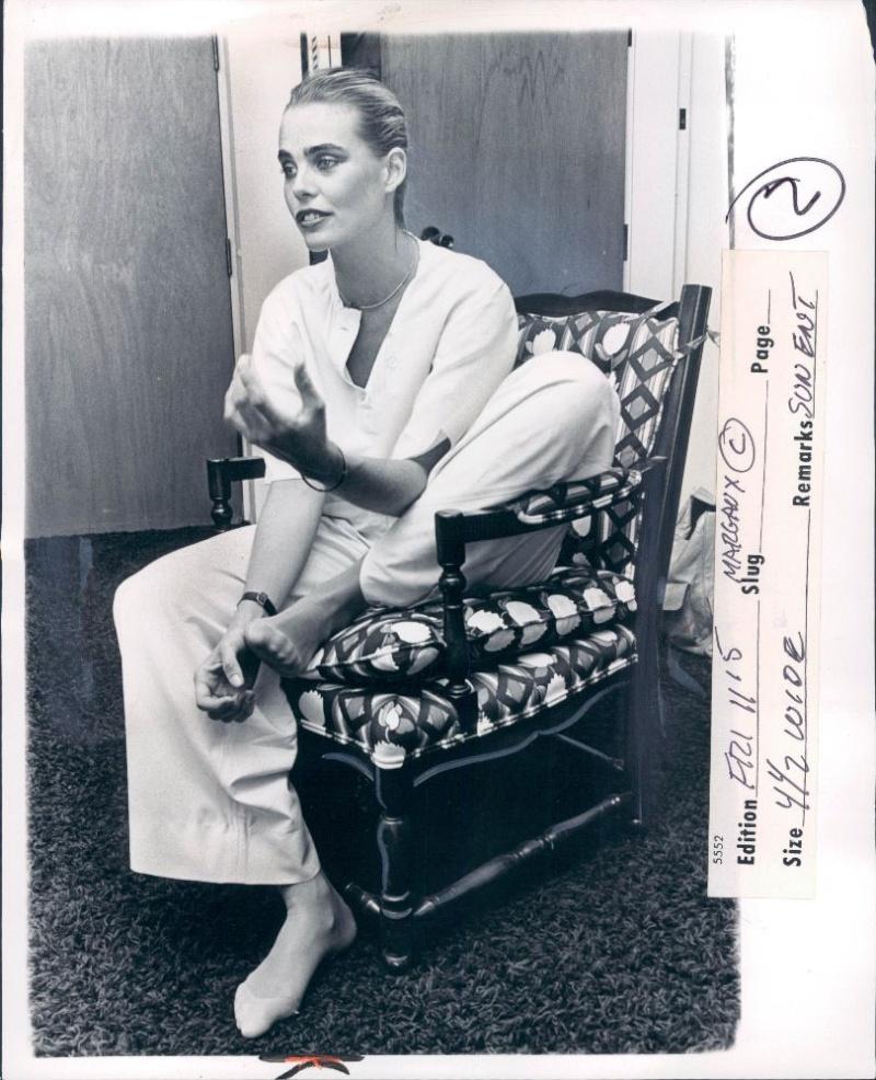 Margaux Hemingway Feet