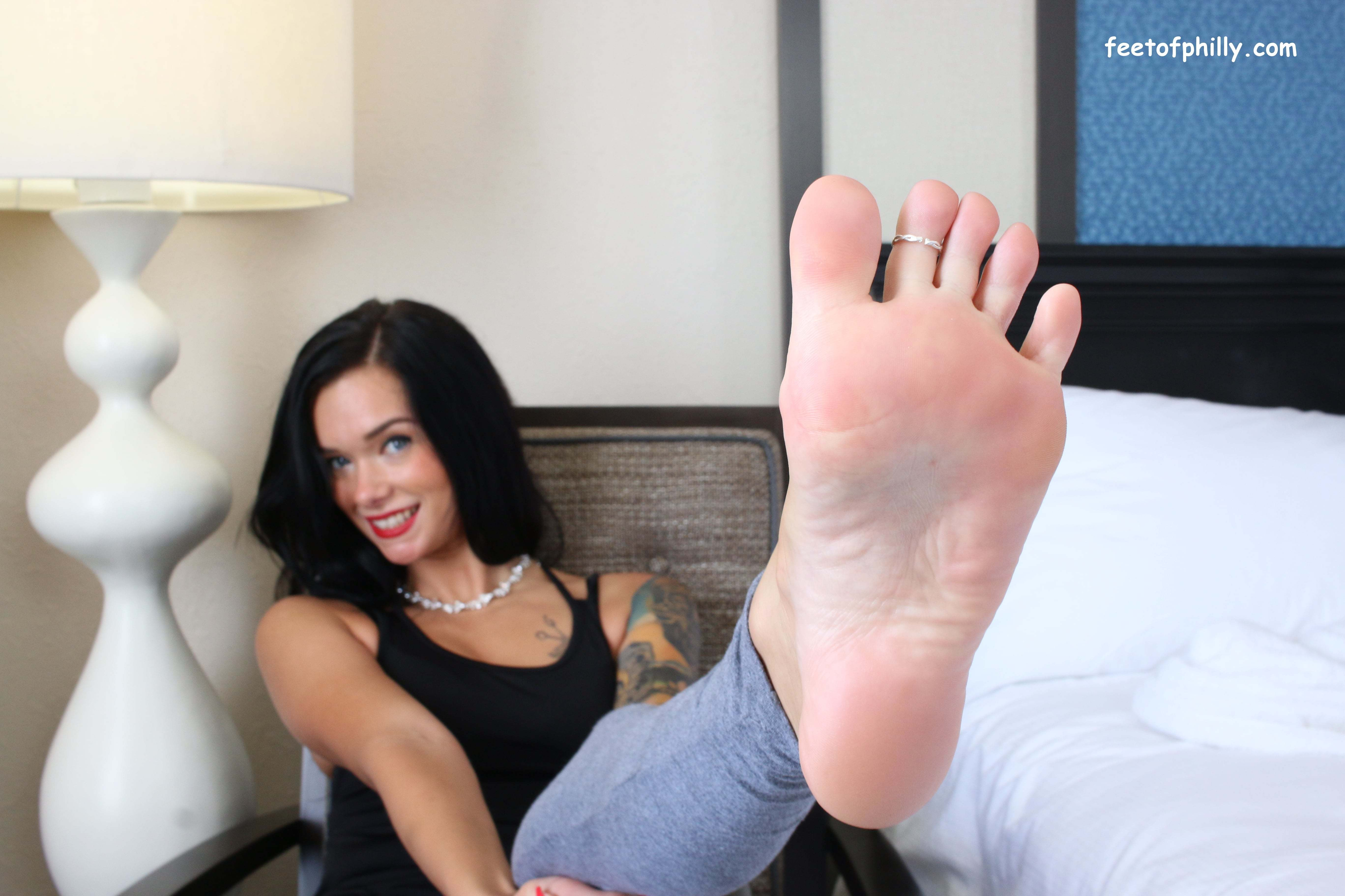 Foot domination movie female