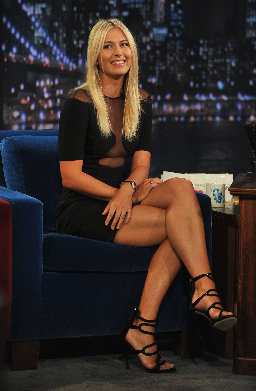 Maria Sharapova's Feet