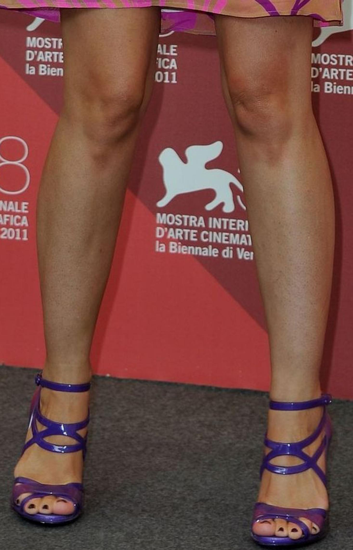 Maria de medeiros feet