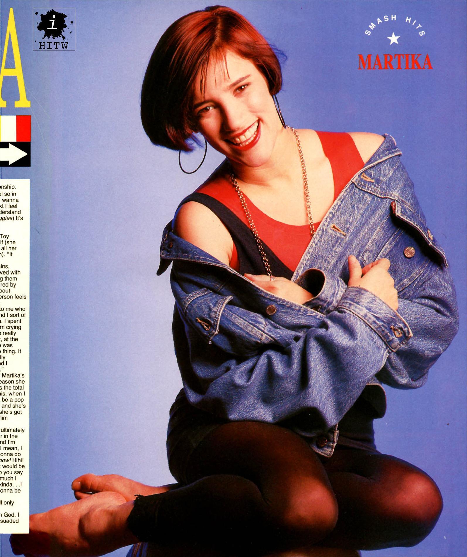 Martika's Feet Mila Kunis Kids