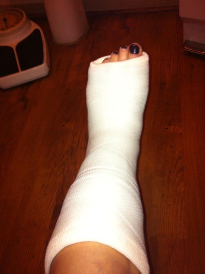 Mary Lou Retton's Feet Sandra Bullock