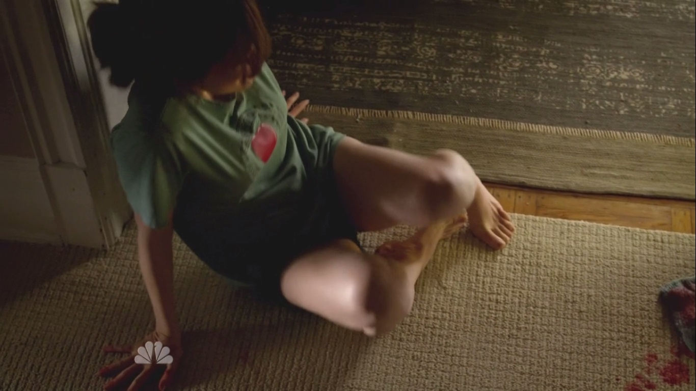 Megan boone barefoot