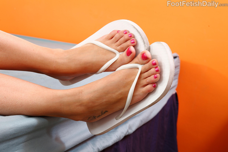 Megan foxx feet