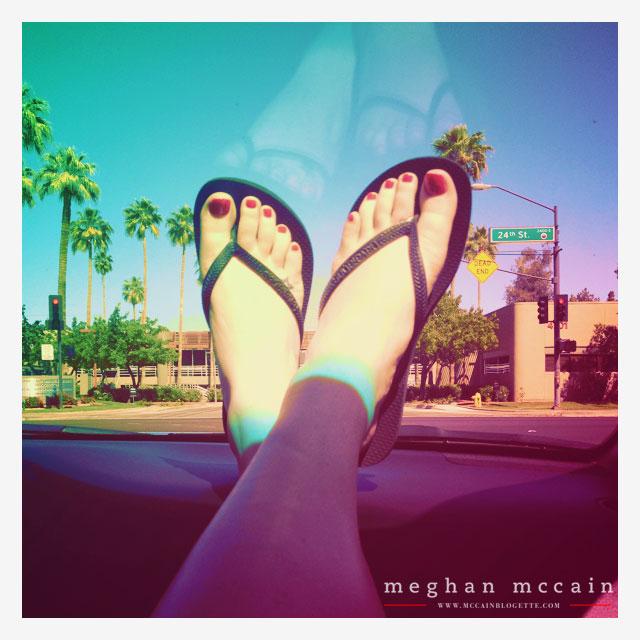 Megan Rain Foot Fetish