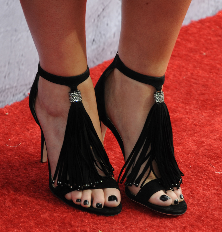 Meghan Trainor's Feet