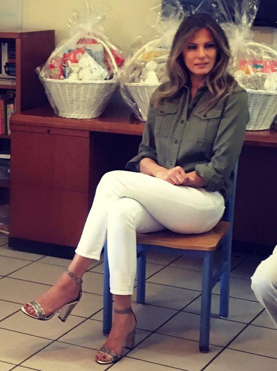 Melania Trump's Feet