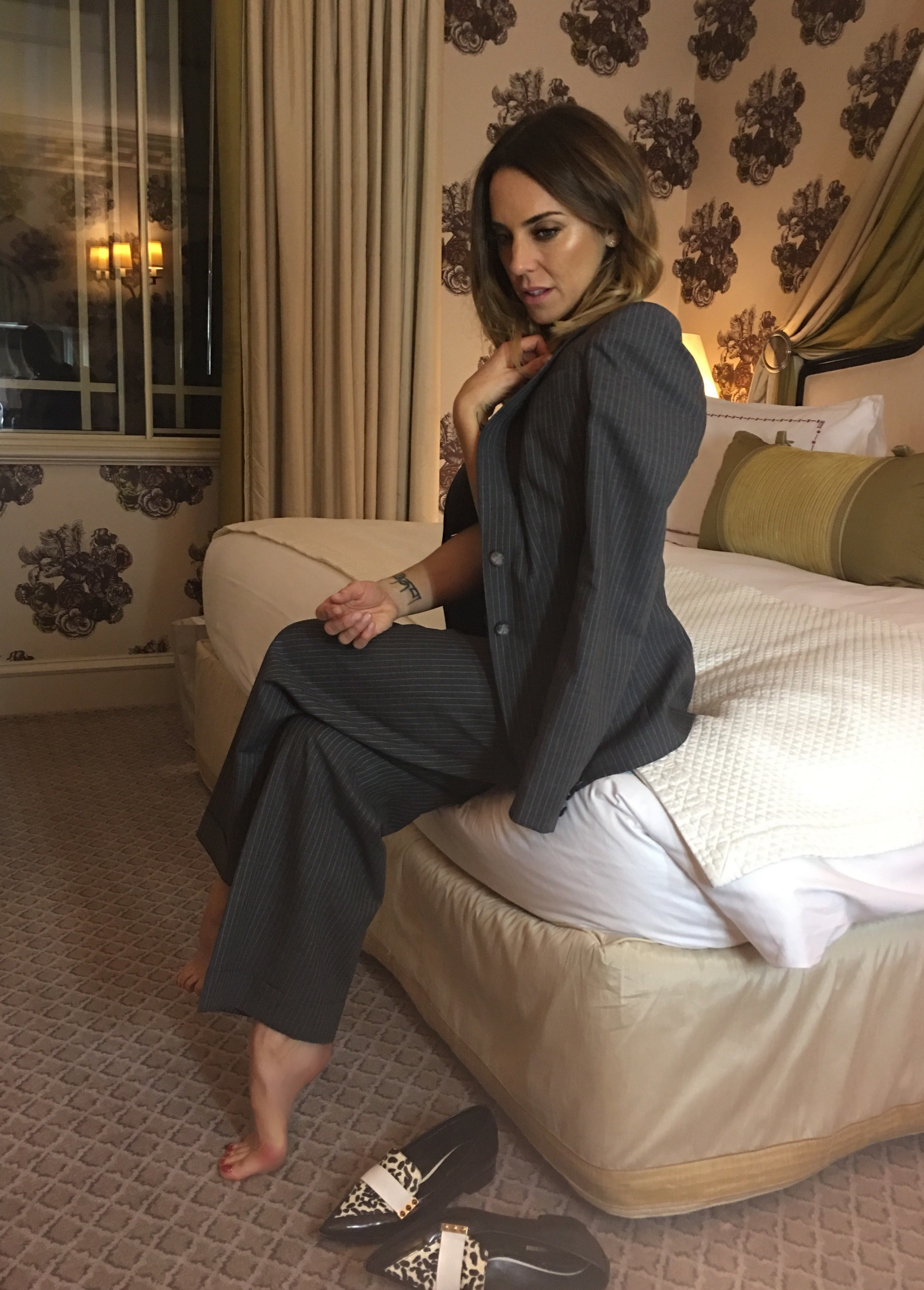 About beautiful mel c feet what beuty