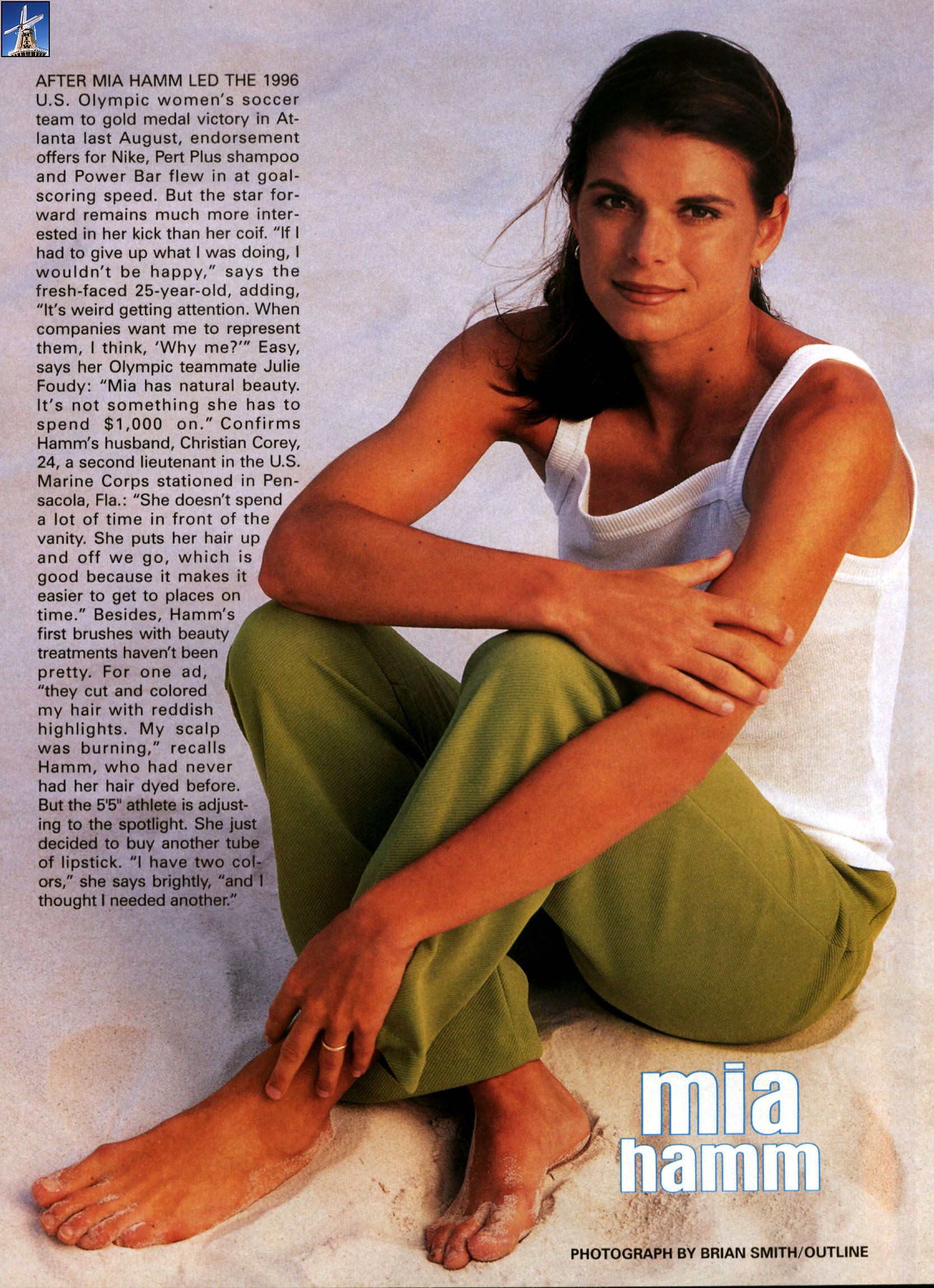 mia hamm feet images pic source