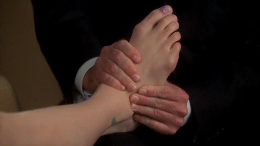 Monica Potters Feet