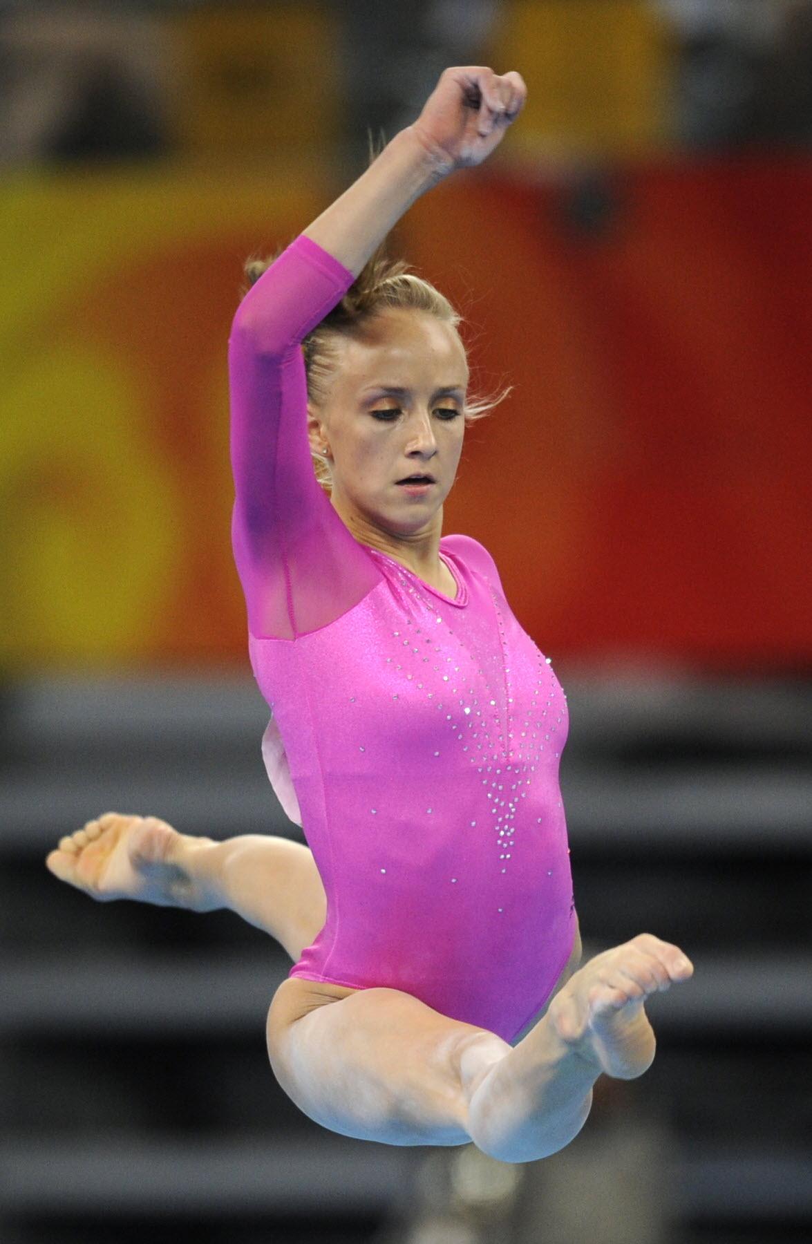 Nastia Liukin's Feet Nastia Liukin Gymnastics Wallpaper