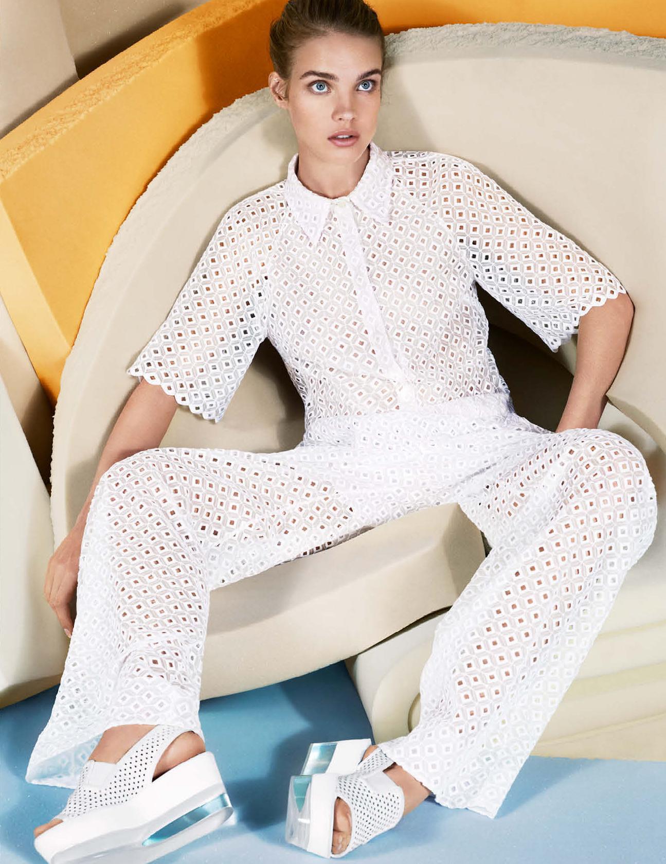 Natalia Vodianova By Paolo Roversi For Vogue Russia: Natalia Vodianova's Feet