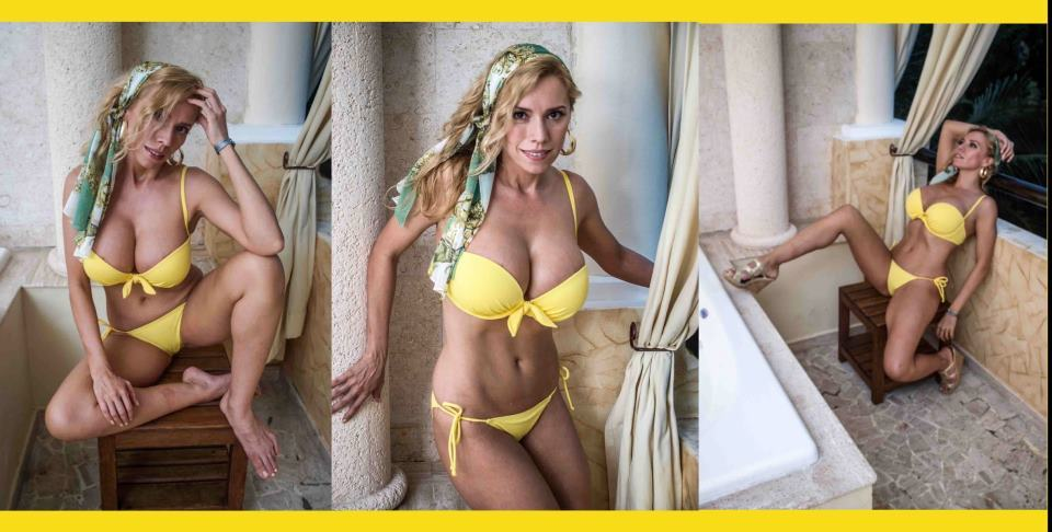 Natasha Kizmet Bikini Tester Bra Buster Bill Murray Fan