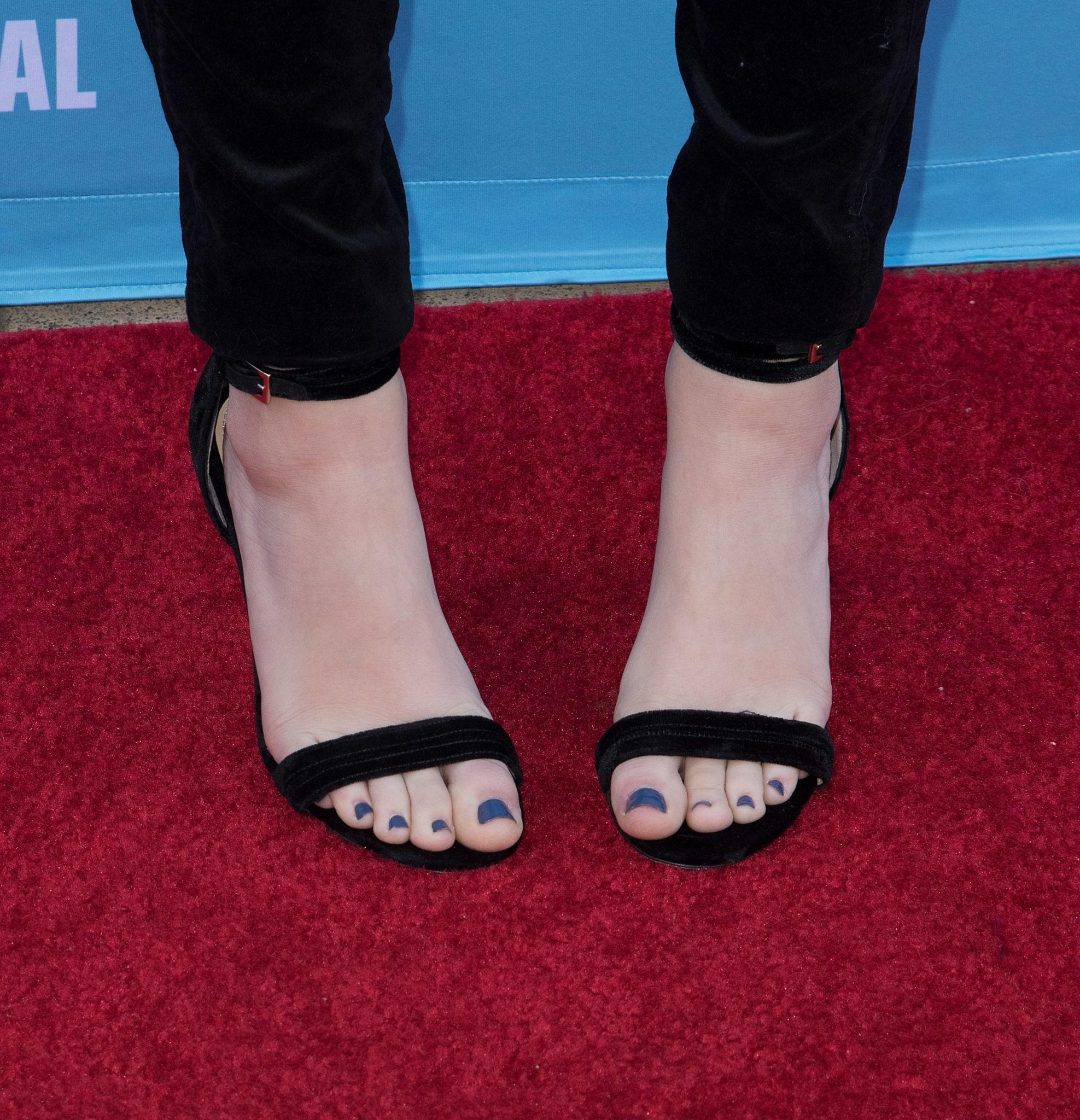 Odeya Rushs Feet