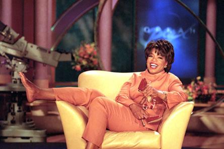 in pantyhose winfrey Oprah