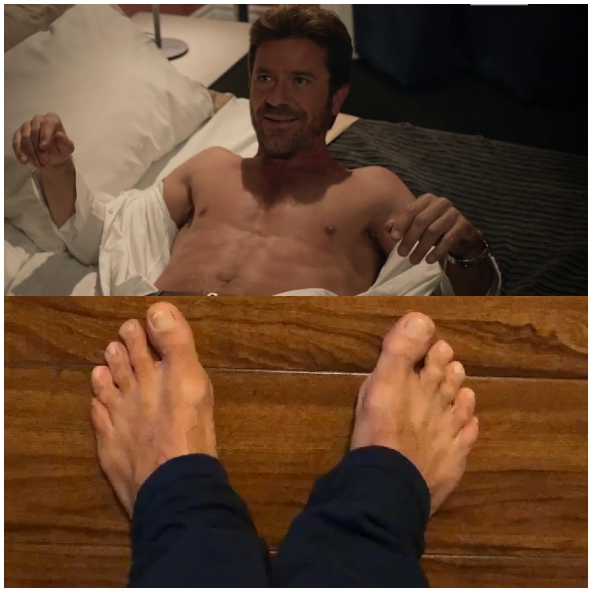 Paolo Conticini's Feet