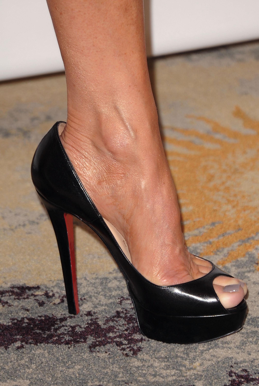 Patricia Heatons Feet