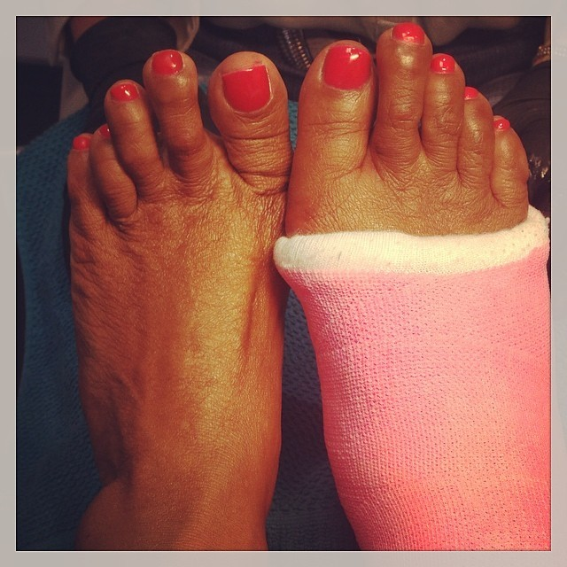Patty Brard's Feet