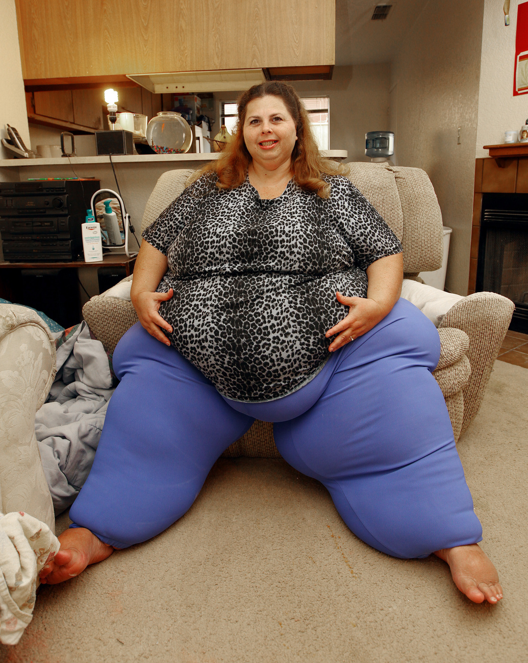 Something biggest fattest woman in the world interesting