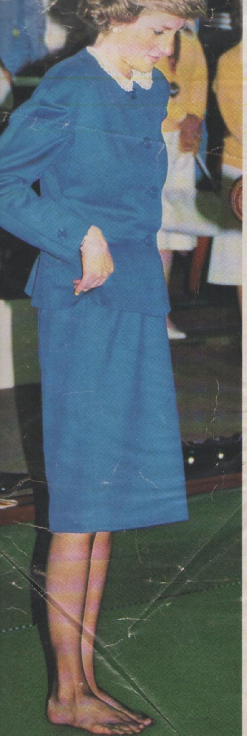 Princess Dianas Feet