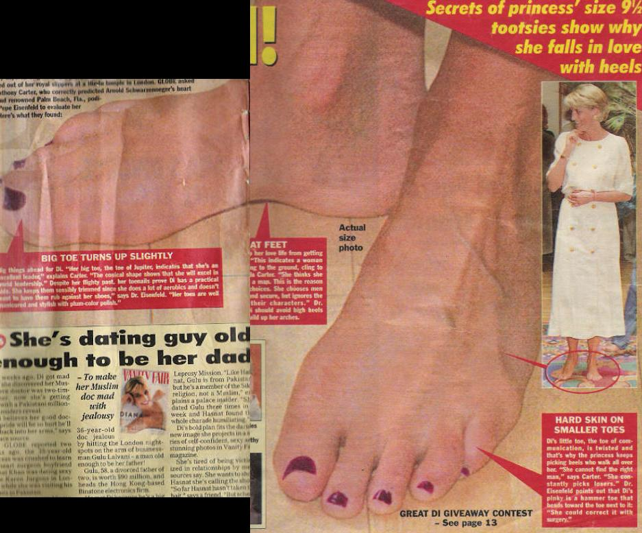 50+ Princess Diana Feet Pictures to get Mesmerized. » Page