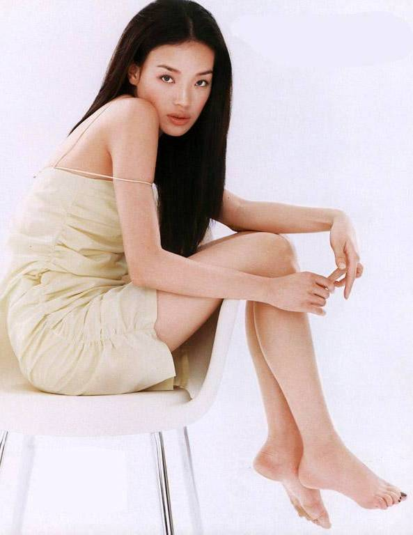 Asian actress feet