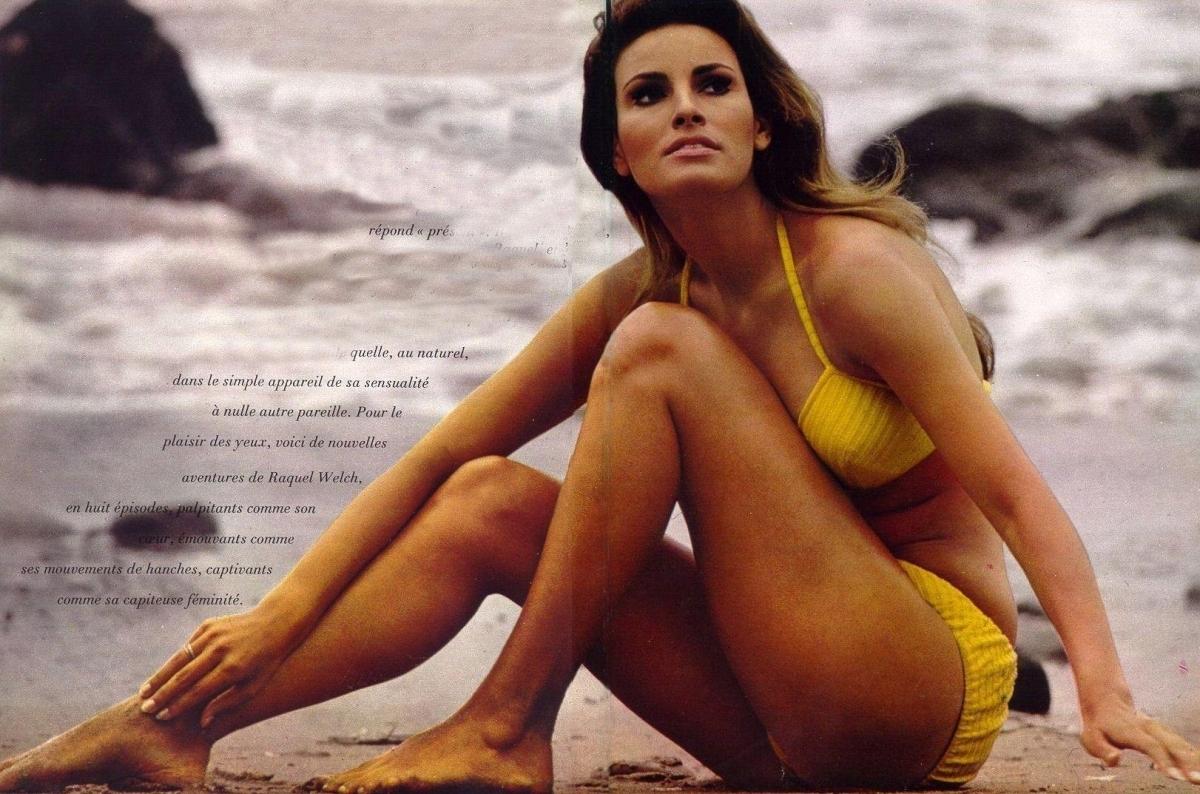 Opinion, Bikini raquel welch nude apologise, but