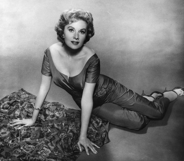 Rhonda Fleming Leggy: Rhonda Fleming's Feet
