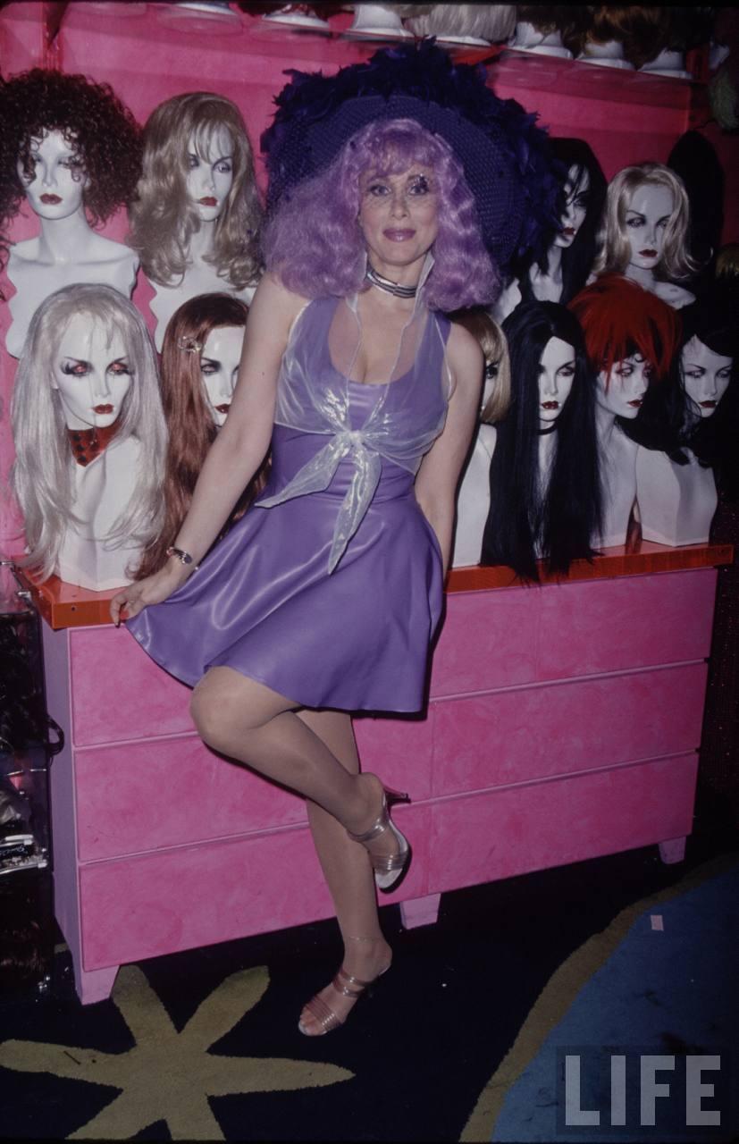 Rhonda Shear's Feet Eva Longoria