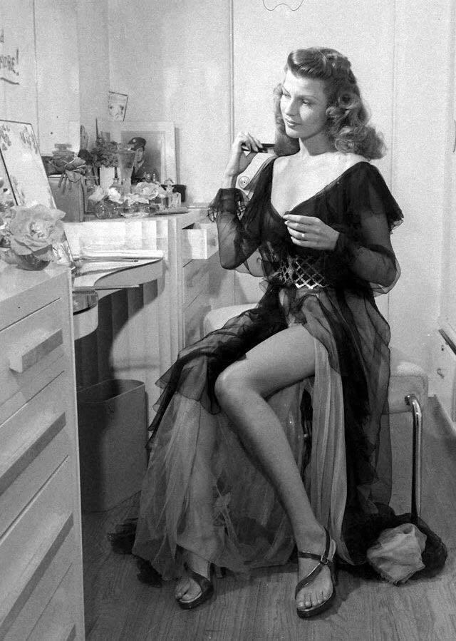 The Footsie Blog: February Winter Blowout  |Rita Hayworth Feet