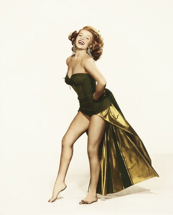 ALL GOOD THINGS: Summer Lovin' - RITA HAYWORTH  |Rita Hayworth Feet