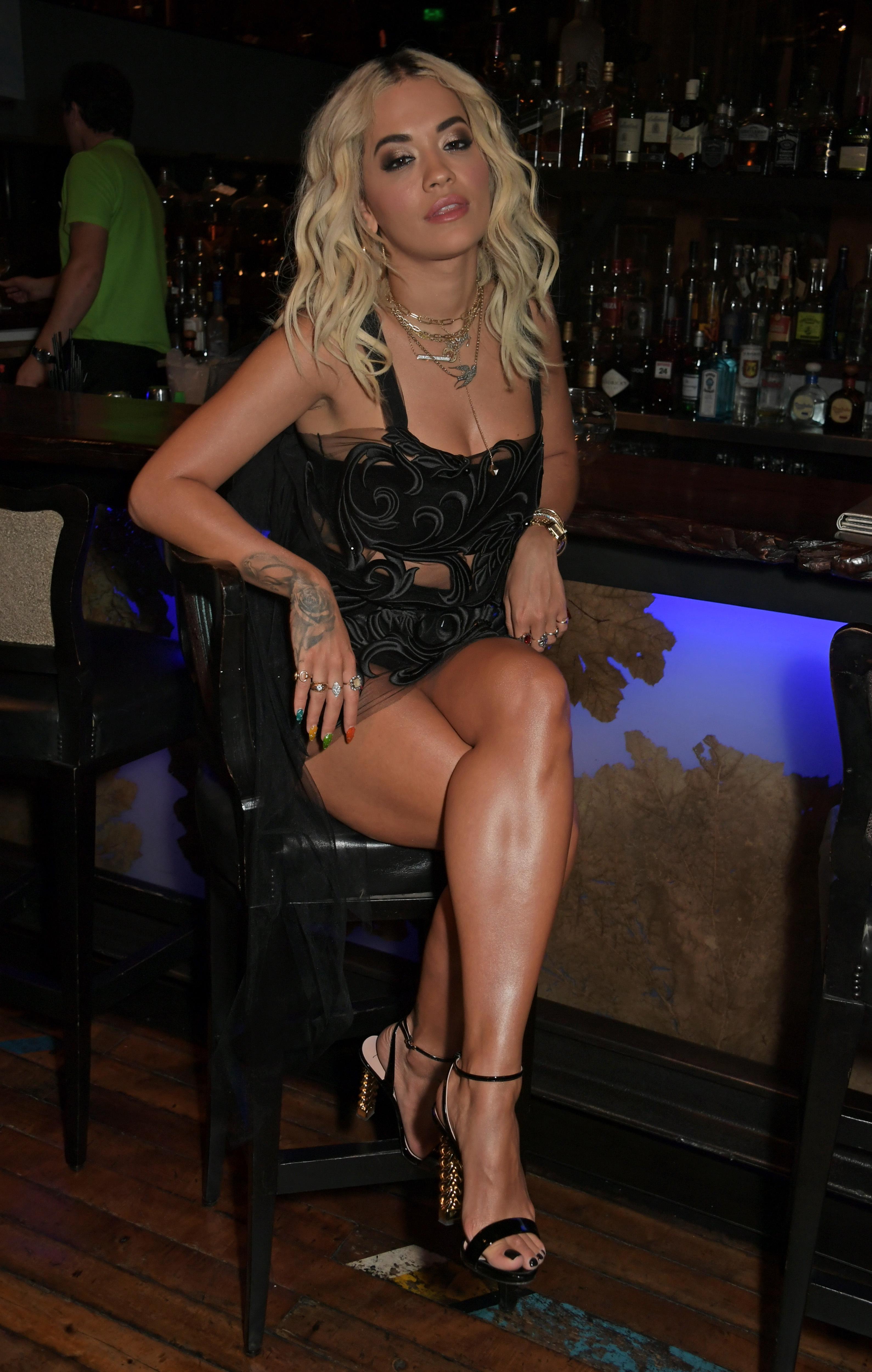 Ora feet rita Rita Ora