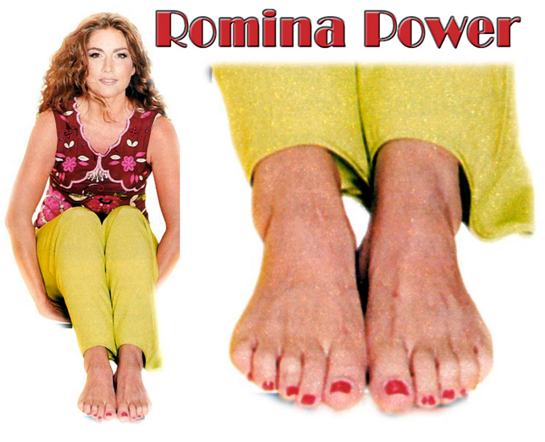 Romina Power's Feet - download mobile porn